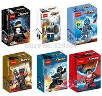 Decool DIY Super hero Punisher Alcon Askmaster minifigures Building block sets classic toys 6pcs/lot Educational Toys