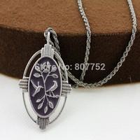 Retro short necklace ls