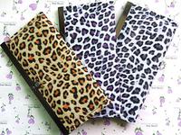 Leopard Women wallets  PU Leather Long Design Famale Wallet Purse Handbag  size (9*19*3)cm ZHJ_LCHSHW09
