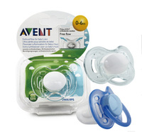 avent baby pacifier,1 pieces a pack,fit 0 month -6 month,3 color