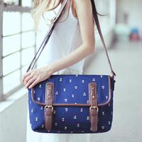 Super lover bag shoulder messenger bag vintage bag women's canvas casual handbag 1246