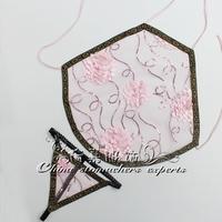 Adult apron women's lingerie transparent gauze lace apron temptation thong sleep set pink bellyband