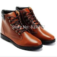 2014 Autumn & Winter Genuine leather  men's Oxfords Martin  Men Boots Fashion High-Top Shoes Men's Casual Footwear Sneaker