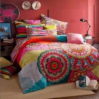 3.7kg pure cotton comforter bedding set king size kids fall&winter thick duvet cover set bed sheet roupa de cama+2 pillowcases