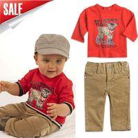 Retail 2014 new arrive children autumn suit kid's long sleeves 2 pcs set  children clothes Set children out fit  promotion