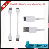 22m Micro B USB 3.0  Data Sync Charging Cable for Samsung Galaxy Note 3 S5 i9600 N900 N9000 N9006 N9002 N9008 free shipping