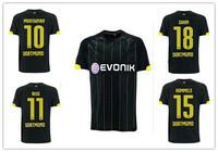 MKHITARYAN REUS Borussia Dortmund 14 15 BVB Dortmund 2015 Jersey Home Away Borussia Dortmund 14/15 Soccer Jersey Football Shirt