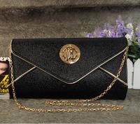 New brand genuine leather women shoulder bag clutch purse chain small bag messenger bag
