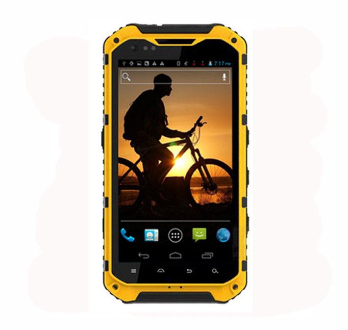 Original 2014 New Arrival A9 IP68 Waterproof Shockproof Mobile Phone MTK6589 Quad Core 3G GPS Smartphone 1GB RAM 16GB ROM 8.0MP(China (Mainland))