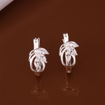 Newfree 925 серебро ювелирные изделия серьги 925 серебро серьги E351