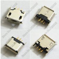 USB jack Connector 180 degrees Mike 5P female micro USB socket plug vertical