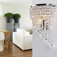 kingart k9 crystal fashion wall lamp modern brief stylish wall lamps lights