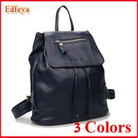 FG326  Girl's Women's Ladies Genuine Leather Backpack Shoulder Student Satchel Book School Fashion Popular Bag