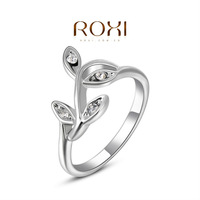 ROXI  Wholesale fashion White Gold Plated Austrian crystal Ring ,new arrival factory prices RO72