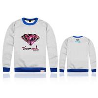 New 2014 Hot Selling Moleton Masculino Hip-Hop Diamond Supply Co Sweatshirts Big Size Sport Suits Men Hoodies Casaco HDY-817