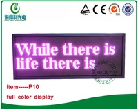 Full color beautiful LED advertisng signable /Indoor LED text board