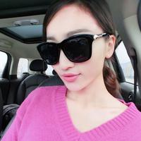Freeshipping Star style sunglasses female 2014 polarized sunglasses personalized glasses all-match