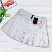 Spring and summer female skirt tennis ball white sports skirt bust skirt sportswear casual wear