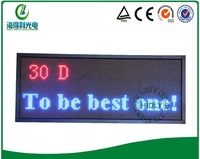 P10 48*128cm indoor full color beautiful LED advertisng signable /Indoor LED text board/LED scrolling display /LED message board