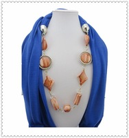 2014 new scaves women wholesale made in China bead loop neck scarves