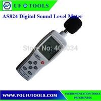 100%  Brand New AS824  sound Level meter,precision Sound Level Meter (30-130dB)
