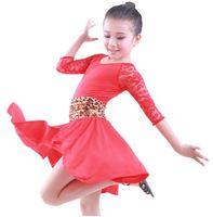 CS-35 Latin dance dress for girls Latin dance costume Dancewear Latin dresses Girls dancewear Clothes for dancing