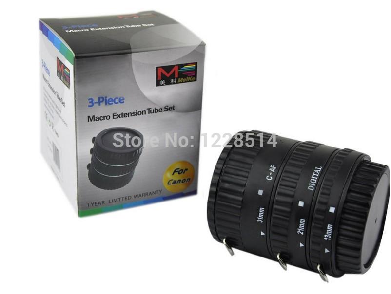 Аксессуары для фотостудий Meike AF CANON EOS EF EF/s mcoplus mk c up extension tube auto macro af reverse meike adapter for canon ef ef s camera