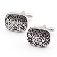 High Quality Newest Brass Esmalte Para Unha Luxury Sparta Cufflinks Cuff Links With Exquisite Box