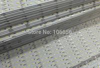 72led/m smd dc 12v aluminum rigid led bar strip light 7020