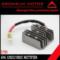 GY6 125cc 150cc Voltage Regulator 5 Pin for chinese 125cc 150cc 125QMI 157QMJ Motor Scooters, ATV, Taotao,Roketa,Peace,Yiben,Nst