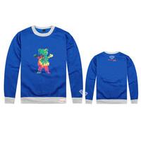 2014 New fashion GRIZZLY GRIP men hoodies Diamond supply co men's hoodie 100% cotton fleece sweatshirts moleton masculino
