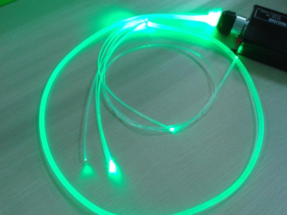 2.5mm soft whole body sidelight guide light quintana line-emitting colorful fiber optic lights waterproof inside outside use(China (Mainland))
