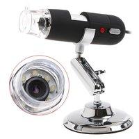 2MP 2 Mega Pixels 800X 8LED USB Digital Microscope Endoscope Magnifier CMOS Camera,Free Shipping Drop Shipping
