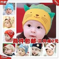2013 Hot Baby Hat, boy Cartoon Tiger Hat, Children's Knitted Warm Hat, Girl Crochet Cap Free shipping