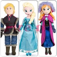 "2014 New 20"" 50cm Frozen Kristoff Plush Dolls Princess Elsa Anna Baby Soft Toys for Girls Christams Birthday Gift  Free Shipping"