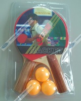 Red table tennis ball amphiaster 21-year-old set racket table tennis ball