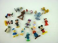 100pcs/lot PVC Mini Anime Figures For Boys Classic Toys Gift