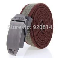 NOS Automatically Men and Women Canvas Belt Spring 2014 Military Belt Cintos
