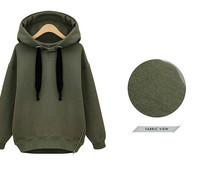 free shipping 2014 New Hot High Collar women Jackets Women's Sweatshirt Dust Coat  Hoodies Clothes cotton jacket  zipper jacket