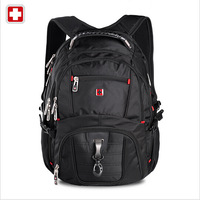 Swiss win Laptop Backpack For Men  Women Double shoulder Fashion Travel Backpack Student School Backpack 15 inch Laptop Bag