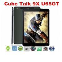 Cube Talk 9X U65GT: 9.7 Inch 3G Phone Call MT8392 Octa Core 2.0GHz Android 4.4 Tablet PC 2GB/32GB 8MP 2048x1536 IPS HD Screen