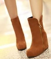 Free shipping/Han edition of knight boots wind USES 2014 increase women's boots