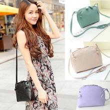 Fashion 1PC Women Shoulder Bag Faux Leather Satchel messenger bag Handbag Anne(China (Mainland))