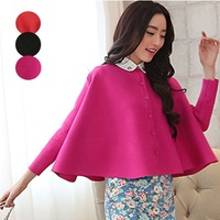 2014 European Style ladies sweater coat cardigan sweater shawl ladies loose cloak ZE3165