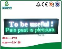 32*128cm 10mm full color led  message moving sign/LED scrolling sign/LED message board/LED programmable display