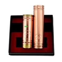 1:1 clone full Copper Vanilla Mod 4nine cig vaporizer pen ecig  VS stingray stainless nemesis 26650 panzer and kayfun 10pcs/lot