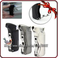 W/Two Size Cigar Punch Jet Flame Windproof Cigar Cigarette Butane Gas Lighter