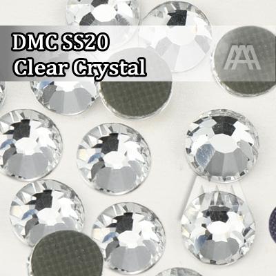 Hot selling DMC rhinestones Clear Rhinestone Top Quality Flatback Hotfix Clothing Jewelry Accessories 1440 pcs in per bag(China (Mainland))