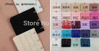 Free Shipping+Wholesale 24 Colors Back Bra Extenders Strap Extension 4 Hooks,1000pcs/lot