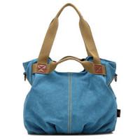 New Arrival Fashion Casual Lady Canvas Handbag 2014 New Women Shoulder Messenger Bag Women's K2 Cotton Canvas Bags Wholesale